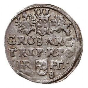 trojak 1598, Poznań, Iger P.98.2.a (R), rzadki i ładny,...
