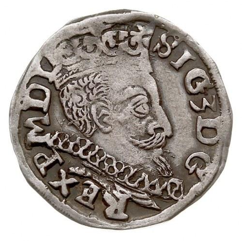 trojak 1598, Lublin, monogram MR bez obwódki, Iger L.98...