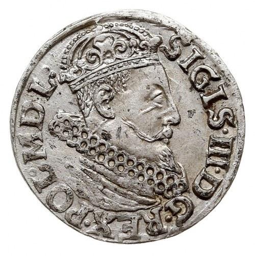 trojak 1618, Kraków, Iger K.18.1.d, bardzo ładny