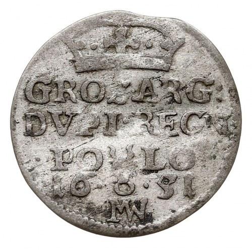 dwugrosz 1651, Wschowa, T. 2, rzadki