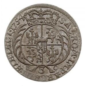 trojak 1754, Lipsk, Iger Li.54.1.a (R1), Kahnt 695.f, d...