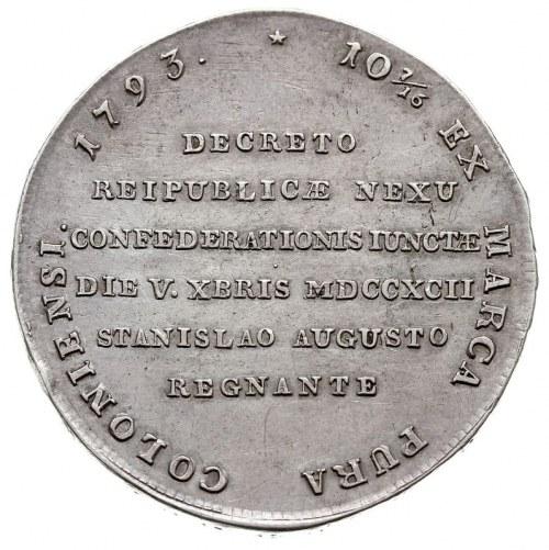 """talar historyczny zwany Targowickim"""" 1793, Grodno?, War..."""