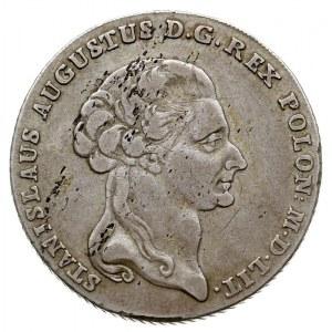 talar 6 złotowy 1794, Warszawa, Plage 373, Dav. 1623, m...