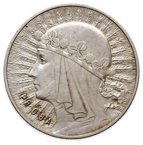 10 złotych 1932, Warszawa, Głowa Kobiety, na rewersie w...