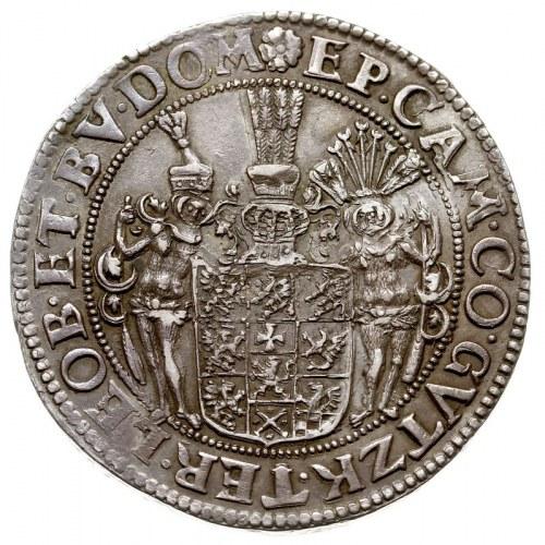 talar 1623, Szczecin, Aw: Popiersie i napis wokoło, Rw:...