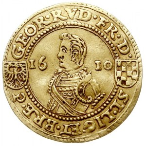 dwudukat 1610, Złoty Stok, Aw: Popiersie w prawo i napi...
