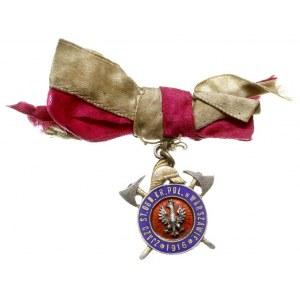 odznaka pamiątkowa Zjazdu Starszych Ogniomistrzów Króle...