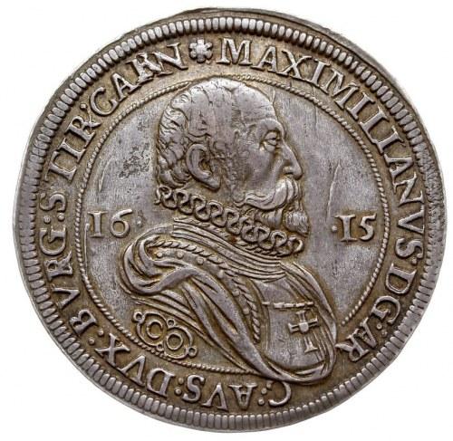 talar 1615, Hall, srebro 28.55 g, Dav. 3321, MT 396, Vo...