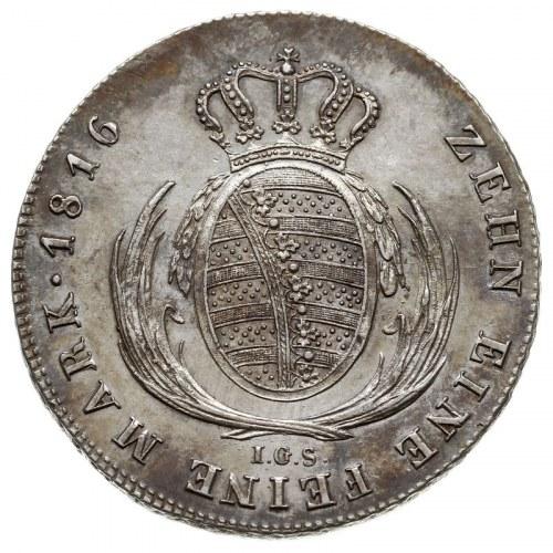 talar 1816 IGS, Drezno, AKS 12, Dav. 854, Kahnt 417, Th...