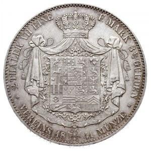 dwutalar 1841 G, srebro 37.10 g, Dav. 819, Kahnt 492, T...