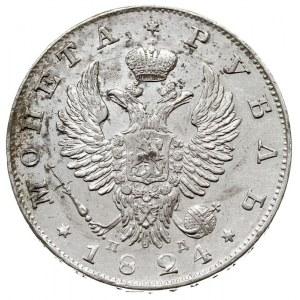 rubel 1824 СПБ ПД, Petersburg, Bitkin 138, Adrianov 182...