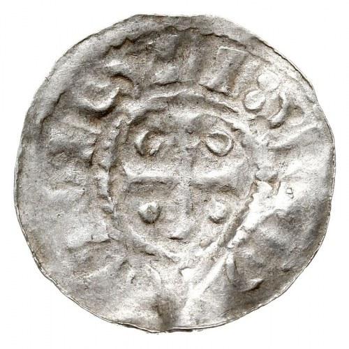 Anonimowe naśladownictwo z końca X w. denara XRISTIANA ...