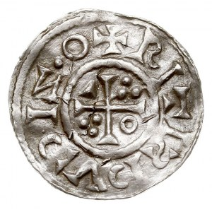 denar 1009-1024, srebro 1.56 g, Hahn 29c3, pęknięty