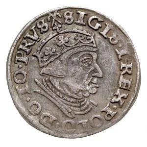 trojak 1540, Gdańsk, Iger G.40.1.e (R1), patyna