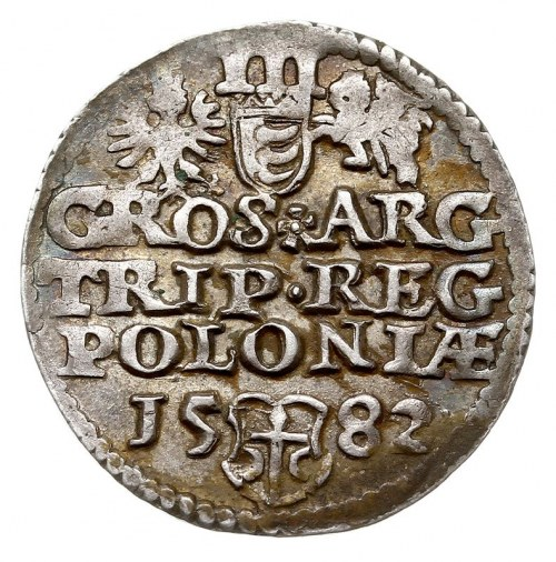 trojak 1582, Olkusz, Iger O.82.5.p (R1), bardzo ładny, ...