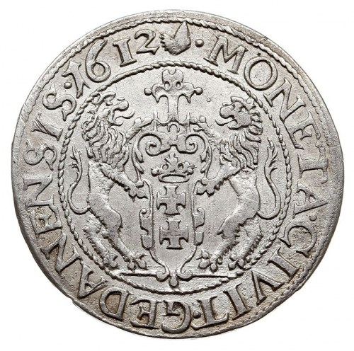 ort 1612, Gdańsk, Shatalin G.12-9 (R2), na końcu napisu...