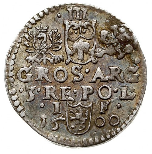 trojak 1600, Lublin, Iger L.00.2.a, bardzo ładny, szcze...
