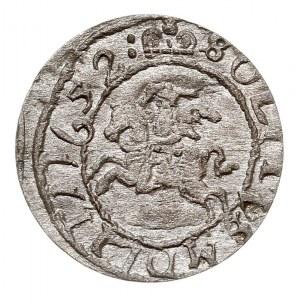 szeląg 1652, Wilno, omyłkowa data 11652 - moneta nienot...