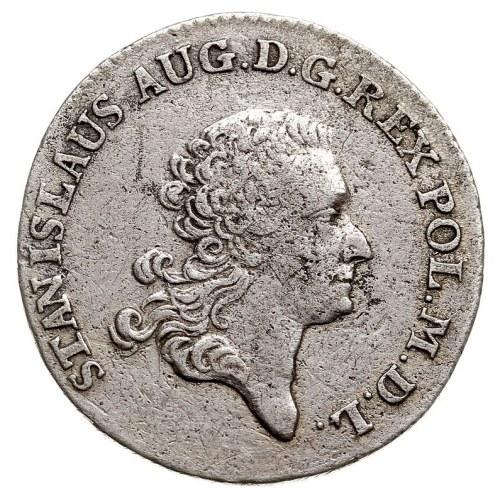 złotówka 1776, Warszawa, Plage 284, Berezowski 5 złotyc...