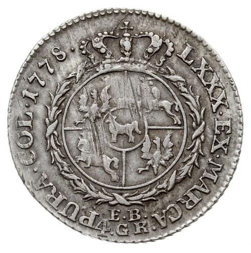 złotówka 1778, Warszawa, Plage 286, Berezowski 5 złotyc...