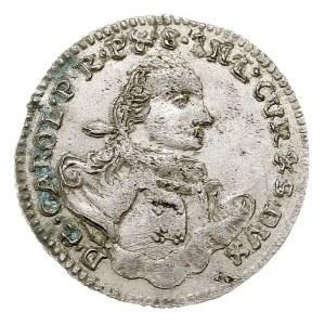 grosz 1762, Mitawa, Gerbaszewski 5.2.2.4, piękny i rzad...