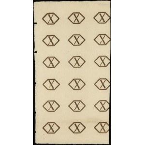 fragment papieru ze znakiem zabezpieczającym do druku 1...