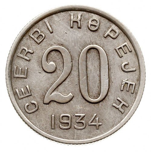20 kopiejek 1934, KM 7