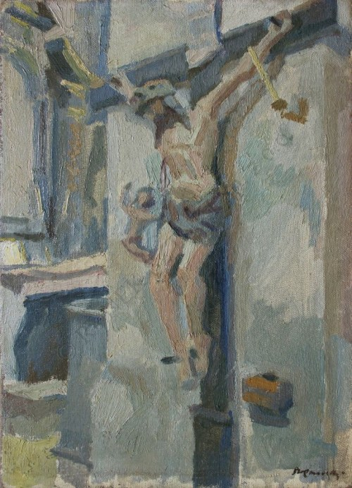 Stanisław Kamocki (1875-1944), Chrystus na krzyżu