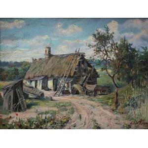 Antoni Kierpal (1898-1960), Chałupa wójta (1928)