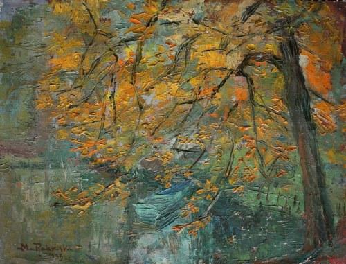 Mieczysław Rakowski (1882-1947), Jesienne drzewo (1933)