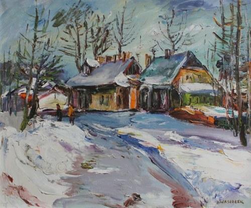 Józef Wasiołek (1921-2008), Pejzaż zimowy