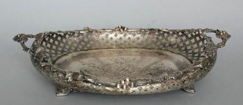 Patera neorokokowa (Niemcy, Frankfurt, 1850-1860)
