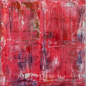 Robert ESCALAR (ur. 1969), Obraz abstrakcyjny, 2017