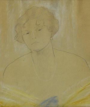 Stefan NORBLIN (1892-1952), Portret młodej kobiety