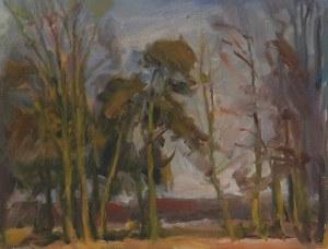 """Juliusz KRAJEWSKI (1905-1992), Cztery obrazy z cyklu """"Wiosna w Świdrze"""""""
