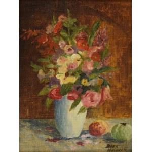 Bakr HEILBRON, Wazon z kwiatami