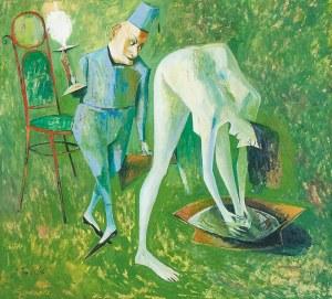 """Iwan KULIK (ur. 1959), Ilustracja do """"Mistrza i Małgorzaty"""""""