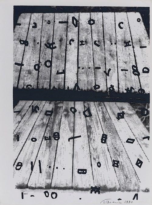 Jan Tarasin, Odwrócona perspektywa, 1990