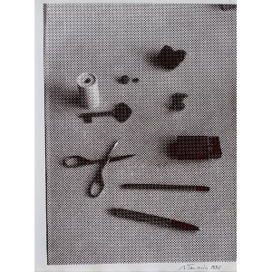 Jan Tarasin, Martwa natura z nożyczkami, 1990