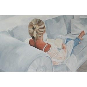 Julia Reiter, Kobieta na sofie, 2019r.