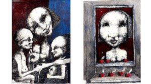 Piotr Kamieniarz, Mała Salome, Sprzedawczyni jabłek