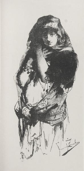 Franciszek Żmurko, Tancerka