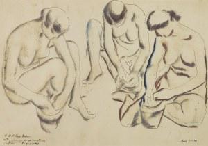 Gottlieb Leopold, TRZY GRACJE, 1928
