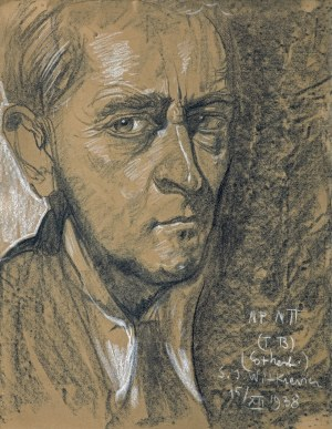 Witkiewicz Stanisław Ignacy, AUTOPORTRET, 15 XII 1938