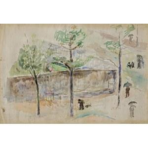 Waliszewski Zygmunt, BULWAR BRUNE W PARYŻU, 1929