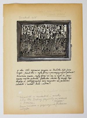 Zbigniew Makowski, Wspomnienie przyjęcia we Fromborku…, 1960-80
