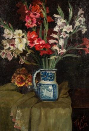 Teodor Grott (1884 Częstochowa - 1972 Kraków), Mieczyki w dzbanie, 1912 r.