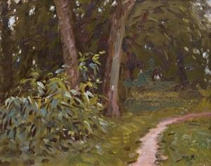 Stanisław Bagieński (1876 Warszawa - 1948 tamże), Ścieżka przez las