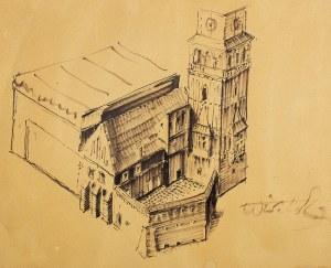 Wiktor Zin (1925 - 2007), Architektura średniowieczna
