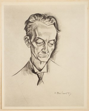 Henryk Berlewi (1894 Warszawa - 1967 Paryż), Portrety i maski